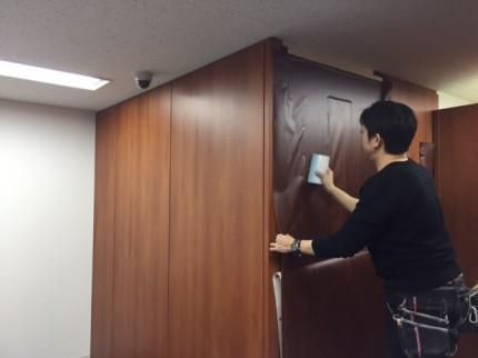 日本橋O事務所ダイノックシート9