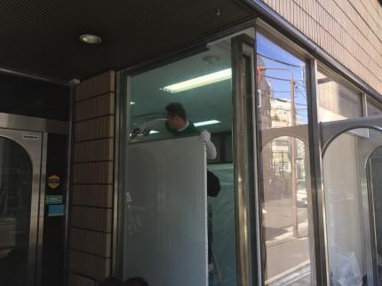 岩本町 倉庫 間仕切解組 ガラス補修工事⑦