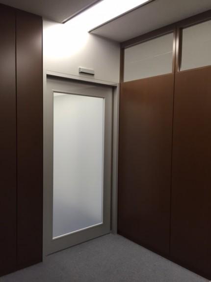 横浜Y事務所塗装完成1