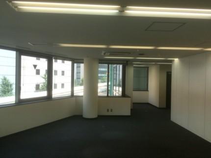 五反田事務所 ガラスパーティション⑦