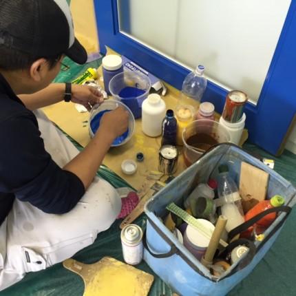 横浜Y事務所塗装色合わせ